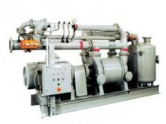 复式汽动换热器