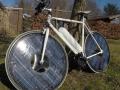 Solar Bike太阳能自行车 车轮带太阳能板