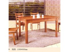 纯实木橡木餐桌餐椅一桌四椅