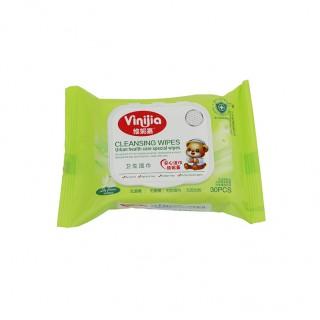 维妮嘉30片清洁通用湿巾 盖装