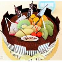 生日蛋糕-巧克力水果蛋糕