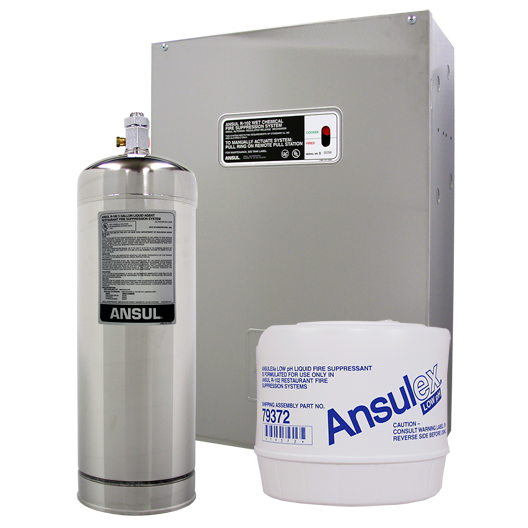 Ansul R-102 Fire Suppression System 消防滅火設備