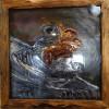《拿破仑》金属浮雕画