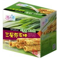 雪之戀/三星蔥蛋捲大手提禮盒