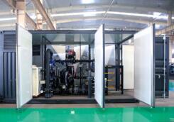 户外集装箱式换热站