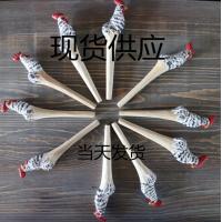 厂家定制创意木雕动物笔库存手工木头笔木质景区热卖圆珠木雕笔