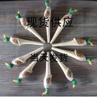 厂家定制库存创意木雕圆珠笔手工雕刻木头笔景区热卖木质木雕笔