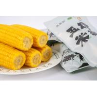 水墨画玉米