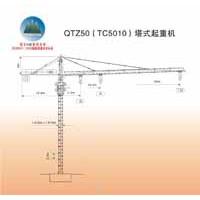 QTZ(TC5010)塔式起重机