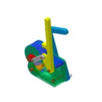 3D 防坠落机械⼿