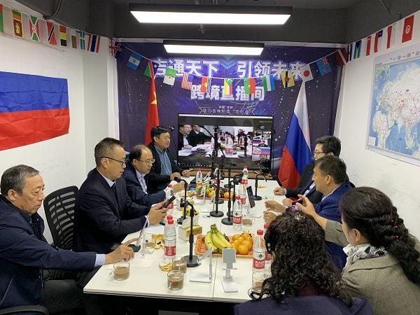 吉通天下新时代——省商务厅领导李主任一行来平探访吉林省对外经贸合作联盟建设进展