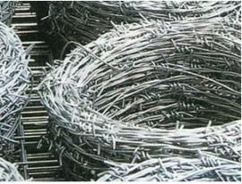 包塑刺绳立柱