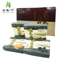 插树岭火锅东北特产干货黑木耳榛蘑黄蘑猴头菇组合涮火锅食材