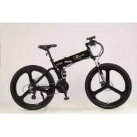 山地电动车自行车成人男女士小型代步新国标助力锂电代驾电瓶单车