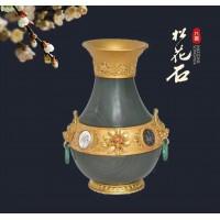 松花石鎏金花瓶