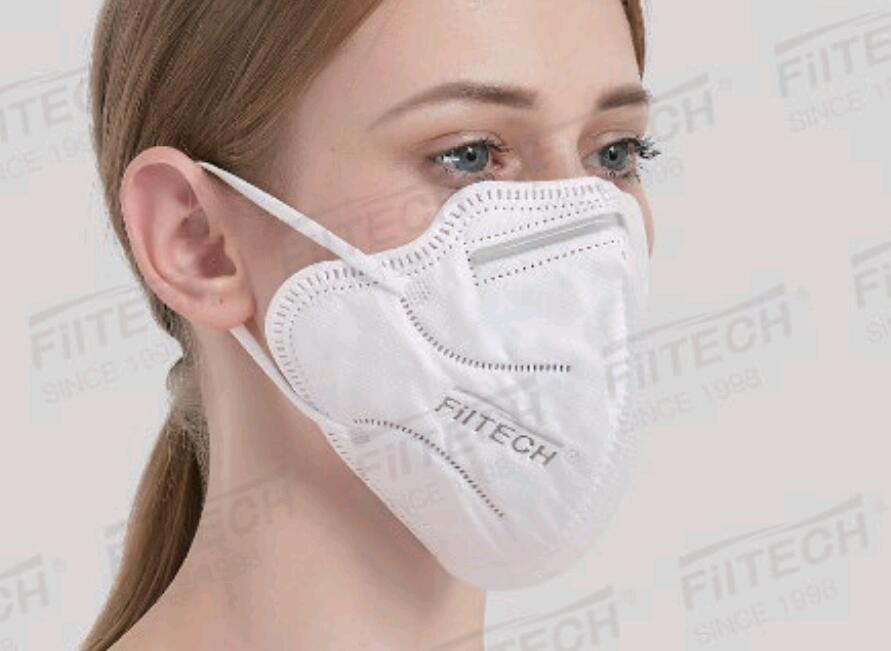 FFP2折叠型高等级防护口罩/CE FDA EUA