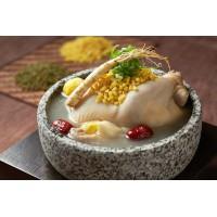 绿豆参鸡汤