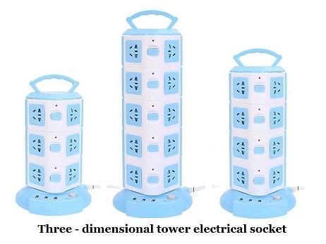 立体塔式电插排插座排插