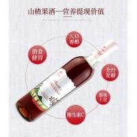 女生果酒通化万通山楂果酒自酿水果酒低度老味道
