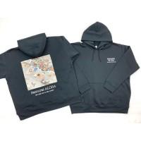 BHE日中产学研交流促进社 宫城县限定和服材质时尚卫衣1