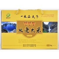 吉林和龙延边大米(清湖河香)5kg黄礼盒