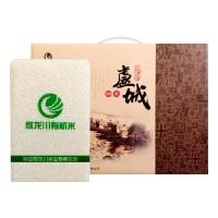 欣龙川盧城御米10斤礼盒真空米砖