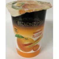 橘子味果冻葡萄味果冻桃子味果冻